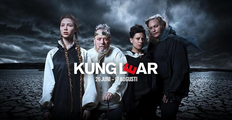 Kung Lear Romateatern 2019